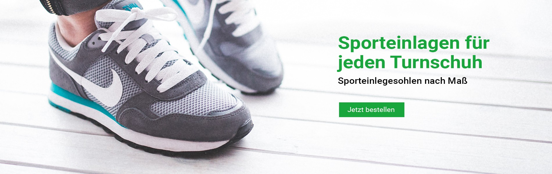 Sporteinlagen für Turnschuhe - Sporteinlegesohlen für jeden Sportschuh