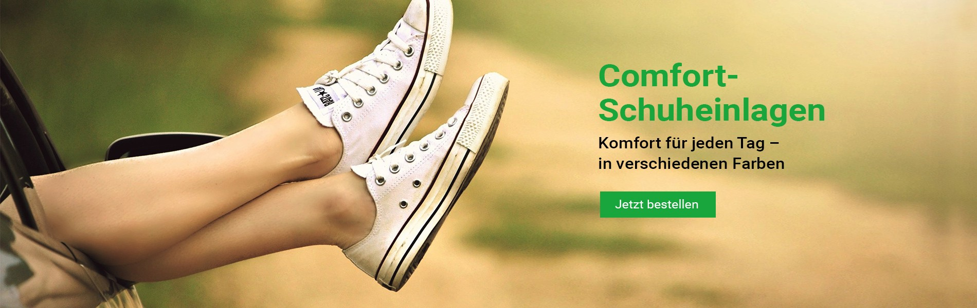 Comfort Schuheinlagen für den beschwerdefreien Alltag - Einlegesohlen für jeden Schuhe